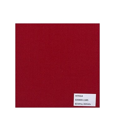 Tipo Trevira PalmBeach Unicolor Rojo