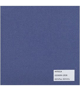 Tipo Trevira PalmBeach Unicolor Azul Paquete de Vela