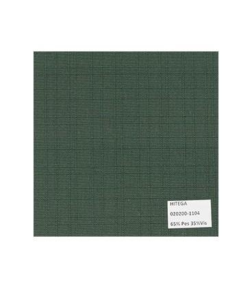 Polylino Unicolor Labrado Verde Parvulario