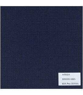 Polylino Unicolor Labrado Azul