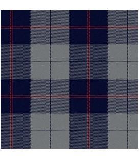 Casimir Escocés Gris Azul Rojo