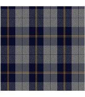 Casimir Escocés Gris Azul Amarillo