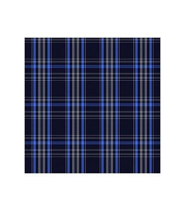 Casimir Escocés Azul Azul Rey Blanco Gris