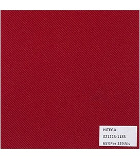 Gabardina Unicolor Rojo Bandera
