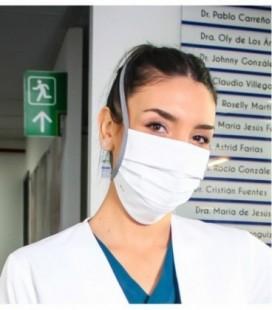 MASCARILLA DE TELA ANTIFLUIDO REUTILIZABLE
